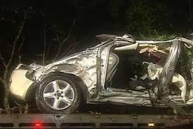 Mother, two children killed in 'horrific' car crash on Sunshine ...