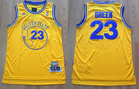 Sale Swingman State Throwback For 23 Nba Golden Green Adidas Yellow Jersey Draymond Warriors Cheap Soul