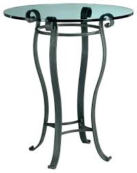 wrought iron pub table round bar height and chairs dimensions forge wr