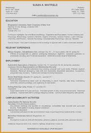 Sample Resumes For Teachers Inspirational Education On A Resume
