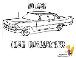 Dodge Cool Car Coloring Grandpappy 1959