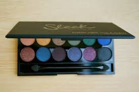 sleek makeup i divine eyeshadow palette in arabian nights review photos swatches