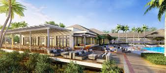 hilton marco island beach resort and spa fl patio and pool rendering