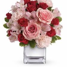 teleflora s love that pink bouquet with roses