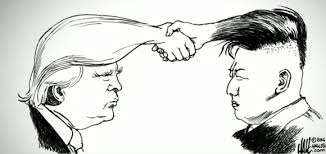 Image result for trump kim hair