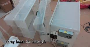 picture of diy airbrush spray booth