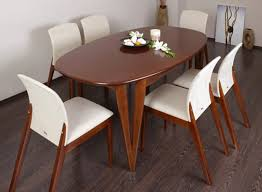havesome venice extending oval dining table oblong dining room table