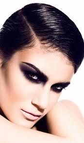 black smokey eye makeup ideas