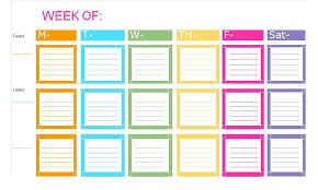 Weekly Checklist 50 Printable To Do List Checklist Templates Excel Word