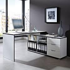 office corner desk. arctic home office corner computer desk in white_1 d