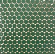 Green penny tile 8