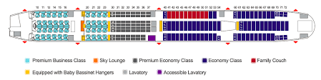 American Airlines Seating Chart 777 300 Inside China Airlines Next Generation Boeing 777 Skift