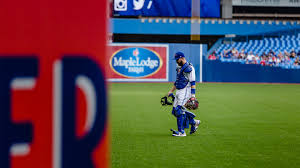 "photo essay a day at the office blue jays catcher russell  ""signing especially for kids they appreciate it you make their day they smile they have a story to tell their friends it is a simple gesture"