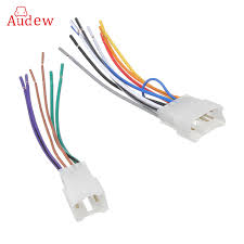 compare prices on radio wiring harness online shopping buy low Auto Radio Wiring Harness 2pcs universal car auto stereo cd player radio wire harness adapter connector cable for toyota car radio wiring harness