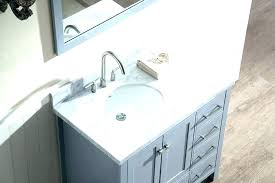 bathroom vanity tops left offset top sink single set