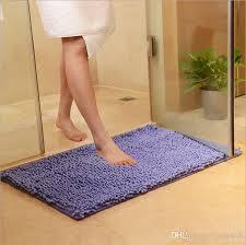 2019 bath mat for kitchen toliet super soft non slip bathroom carpet absorbent 38 58cm bath rug bedroom rug rectangle carpet from cindy668