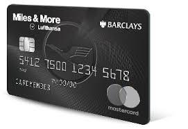 Lufthansa Miles More World Elite Mastercard Barclays Us
