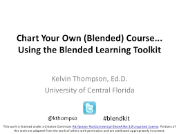 Chart Your Own Blended Course Using The Blended