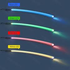 2 5mm soft tpu led light wrist band necklace lighting fiber optic cable in optic fiber lights from lights lighting on aliexpress com alibaba