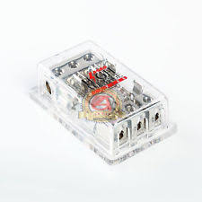amp fuse block 3 4 gauge in 3 8 gauge out agu fuse block platinum 3 power