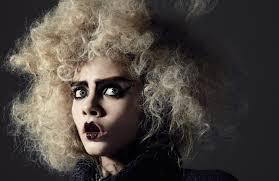 ... styled by Sarah Richardson, with hair by Chi Wong (Julian Watson Agency) and makeup by Miranda Joyce (Streeters). - Cara-Delevingne-i-D-Richard-Bush-02