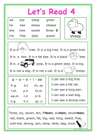 To minimize frustration, be sure to provide clear instructions for each worksheet. Letseadsheet Free Esl Printablesheets Made Ideaseading Practice Image Kindergarten English For Kids Grade 728 1030 Activities Jaimie Bleck