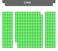 Seating Chart Gateway Playhouse