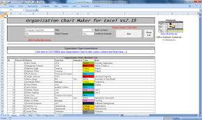 Microsoft Org Chart Template Organizational Chart Template Excel Download Organization 30 Of O