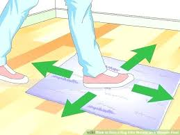 how to keep area rugs from slipping on hardwood floors stop carpet uk