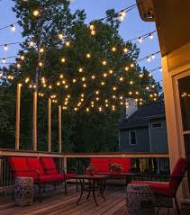 hanging string lights on patio outdoor patio hanging string lights 7 amazing patio string lights patio lights hanging across a how to hang string lights on