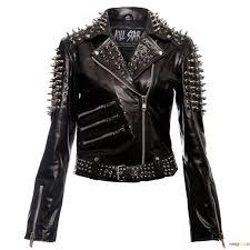 gothic leather jacket