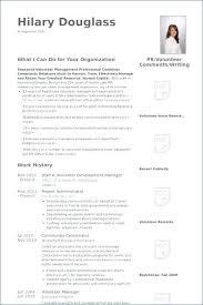 Community Service Resume Template Modern Social Worker Resume