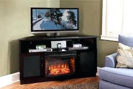 Corner Electric Fireplace TV Stand Walmart  Home Fireplaces Walmart Corner Fireplace