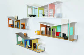 doll furniture recycled materials. Alongside Ordinary Household Items, Miniature Furniture Pieces Are Also Displayed. Acting As Doll Houses For Grownups, This Combination Creates A Recycled Materials F