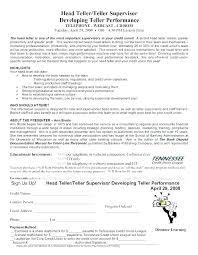 Lead Teller Resume Interesting Teller Manager Resume Resume Sample Bank Teller Bank Teller Resume