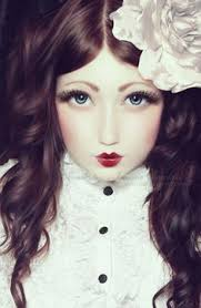 beautiful porcelain doll face gl eyes and porcelain skin doll makeup disney characters fictional