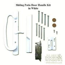 sliding door parts screen patio trolley pella handle latch repair