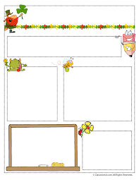 Teacher Newsletter Templates - Woo! Jr. Kids Activities