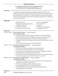 Consulting Resume Examples Thisisantler