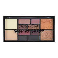 free bold as br palette when you spend 12 on selected makeup revolution at super