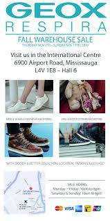 Designer Shoe Warehouse Sale Toronto International Centre Geox Fall Winter Warehouse Sale Styledemocracy