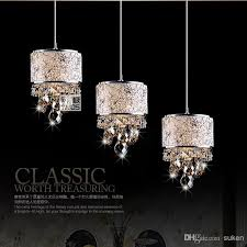 beautiful crystal pendant lights mini chandelier