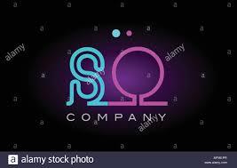 Neon Sign Logo Design Alphabet So S O Letter Logo Design Combination With Neon