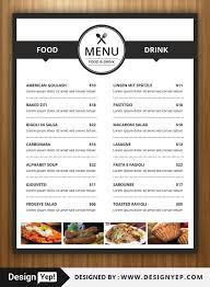 Food Menu Design 40 Restaurant Food Menu Design Psd Templates Decolore Net