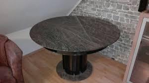 Marmor Esstisch Schwarz