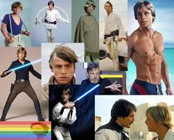 Luke skywalker is gay joke