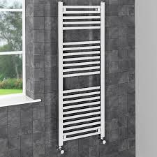 durathermsquarebarheatedtowelrailchrome1200 heated towel bar69