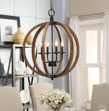 farmhouse dining room lighting vineyard orb wood orb square lantern chandelier rectangular wood chandelier