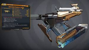 Borderlands 3 Damage Chart Borderlands 3 One Pump Chump And 4 More Early Legendary