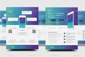 Design Flyer App Mobile App Promotion Flyer Templates